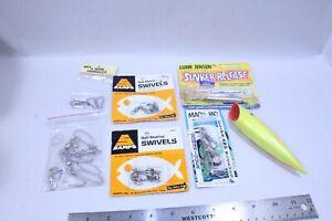 Fishing Snap Swivels Downrigger Misu Sinker Release Lot Plus J-Plug