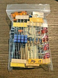 Mixed lot Grab Bag Electronic Components Capacitors LEDs Transistors, ALL NEW!