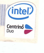 Intel Centrino Duo Case Sticker Aufkleber Badge