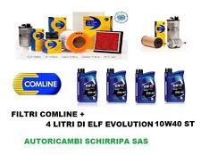 KIT TAGLIANDO FILTRI + OLIO ELF 10W40 RENAULT CLIO 2 TWINGO 1.2 1.4 BENZINA