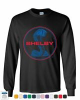 Shelby Cobra Ford Mustang Long Sleeve T-Shirt American Muscle Ford Racing Tee