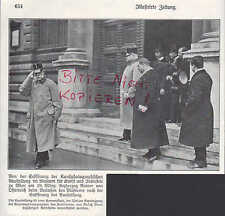WIEN, Werbung 1912, Eröffnung Kunst-Fotografische-Ausstellung Erzherzog Rainer