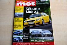 3) MOT 18/2002 - Volvo S 60 D5 Premium mit 163P - Ford Fiesta 1.3 Ambiente mit 7