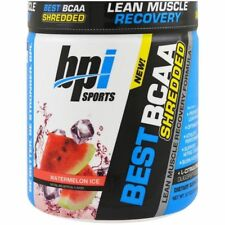 Bpi Sports Best BCAA Shredded Lean Muscle Recovery Formula Watermelon Ice 275 G
