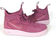 Nike Air Force 1 Ultraforce Mid Fif Women's Shoes Vintage Wine AJ1701-600