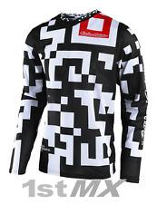 Troy Lee Designs TLD GP AIR Maze Motocross Race Jersey White Black Adult XXLarge