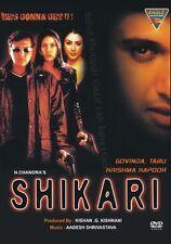 SHIKARI (GOVINDA , TABU & KRISHMA) BRAND NEW BOLLYWOOD DVD - FREE UK POST
