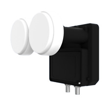 LNB Monoblock Twin Inverto Black Ultra - 2 Têtes 2 Sorties Full HD 3D Ultra HD