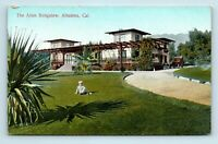 Altadena,CA - EARLY 1900s VIEW OF THE ALLEN BUNGALOW & OLD CAR - POSTCARD