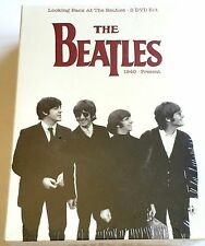 NEW ~ LOOKING BACK AT THE BEATLES 3 DVD'S BOX SET ~ THE BEATLES 1940 - PRESENT