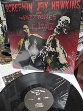 Screamin Jay Hawkins & The Fuzztones LIVE LP Spell on you Gloria Aligator Wine