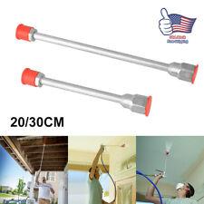 Universal Airless Paint Sprayer Spray Gun Tip Extension Pole Rod 20/30cm US