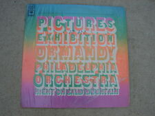 Pictures At An Exhibition Ormandy Philadelphia Orchestra LP Night On Bald Mtn.
