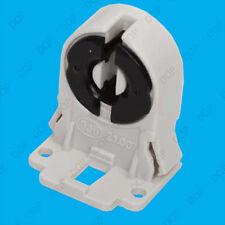 2x T8 G13 Base Fluorescent & LED Tube Lamp Holder Sockets Snap-In Or Slide-On