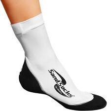 Sand Socks Classic High Top Neoprene Athletic Socks - White