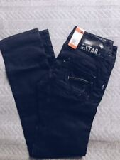 G-Star Straight Leg Cotton Low Rise Jeans for Women