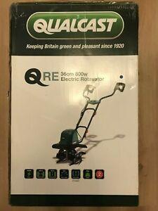 Qualcast 800W Electric Rotavator Garden Tiller Rotavator Cultivator - Sealed