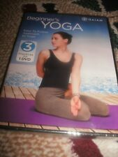 NEW! Gaiam Beginner's Yoga 3 Practices on 1 DVD Suzanne Deason * Colleen Saidman