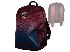 Westham United Fan Rucksack rot Hammers Backpack WUFC Premier League 45x35x15 cm