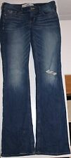 Women's HOLLISTER California ~ Distressed Flare Jeans ~ Size 3S (26 x 31) EUC