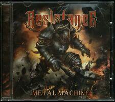 Resistance Metal Machine CD new power metal indie