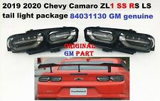 2019 2020 chevy camaro tail lights dark 84031130 oem gm genuine