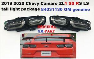 2019 2020 chevy camaro tail lights dark 84031130 oem gm genuine