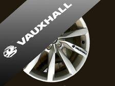 Vauxhall Calidad Llantas De Aleación calcomanías Autoadhesivos Corsa, Vivaro, Insignia 100x17 mm x8