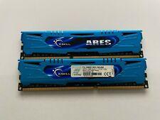 G. SKILL F3-1866C10D-16GAB (16GB, PC3-14900 (DDR3-1866), DDR3 SDRAM, 1866 MHz, D