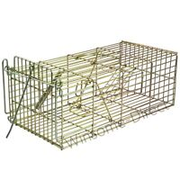 Humane Rat Trap Live Catch Mouse Mice Rodent Pest Animal Bait Control Metal Cage