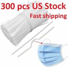 300 Pcs PE Nose Bridge Wire Strip Adjustable Nose Bracket DIY Wire Crafts,USA