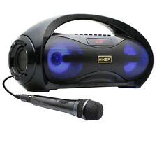 HIKEP Portable Bluetooth Karaoke Machine, Wireless PA Speaker System Voice Ampli
