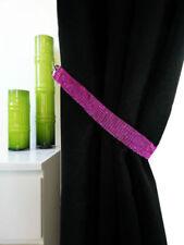 Alzapaños color principal rosa para cortinas