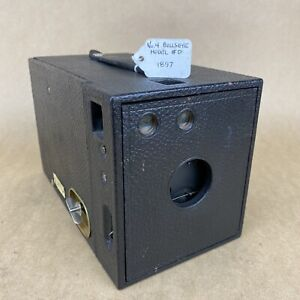 Kodak No. 4 Bullseye Model #D 1897 Vintage Box Film Camera