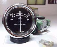 Land Rover Serie 1 80 Original Lucas Armaturenbrett Panel Aux Ampermeter 234563