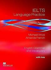 Macmillan IELTS Language Practice Student's Book & Key by M Vince, A French @NEW
