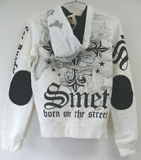 NWT Christian Audigier Ed Hardy SMET JUNIOR HOODIE SHIRT JACKET sz X-SM