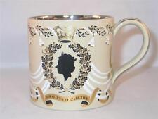 WEDGWOOD QUEEN & PRINCE PHILIP 25th WEDDING ANNIVERSARY  GUYATT large mug