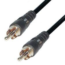 Audio Kabel Cinch Stecker auf Stecker 1,5m RCA mono Anschlusskabel kaa