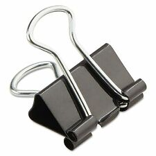 """144-Pack Mini Universal Steel Wire Binder Clips 1/4"""" Capacity 1/2"""" Wide Double"""