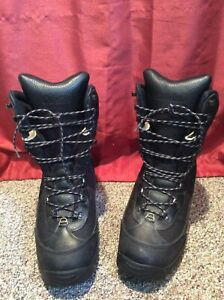 Cabela's 83-1287 Inferno Dry Plus black leather winter Boots Men 12 D Thinsulate