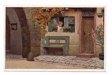 Germany - Paul Hey, Die Lore am Tore - Vintage VDA Postcard