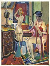 DESNOYER 1942 PRINT w/COA. £ superb affordable € François Desnoyer SEXY RARE ART