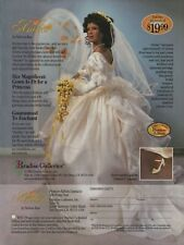 2000 Amber Porcelain Bride Doll By Patricia Rose Premiere Edition Photo Print Ad