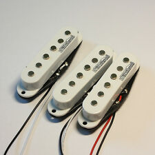 3electric guitar Coil Pickups Wilkinson MWHS Stratocaster white  set