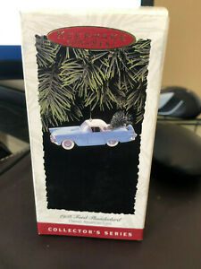 NEW Hallmark 1993 Keepsake 1956 Ford Thunderbird Collectors Series Xmas Ornament
