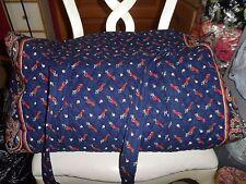 Vera bradley XL duffel bag in retired Blue Golf pattern