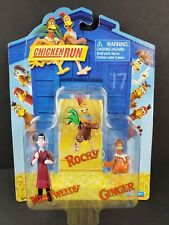 Chicken Run Mini Figure Set Rocky, Mrs. Tweedy & Ginger 2000 Playmates New