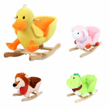 Schaukelpferd Schaukel Plüsch Schaukeltier Stuhl Baby Kinder spielzeug Ente