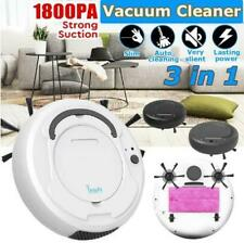 1800Pa Robot Vacuum Cleaner Smart Floor Sweeper , 3In1 Auto Rechargeable DryWet